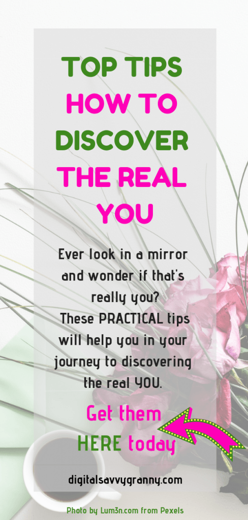 In today's busy world its so easy to lose our identity. We become who others want us to be instead of who we are. Rediscover yourself using these pratical tips. Start today.