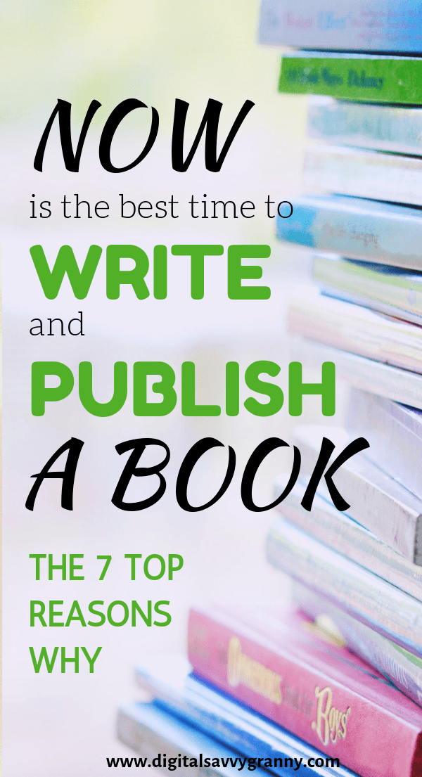 Write and Publish your book now