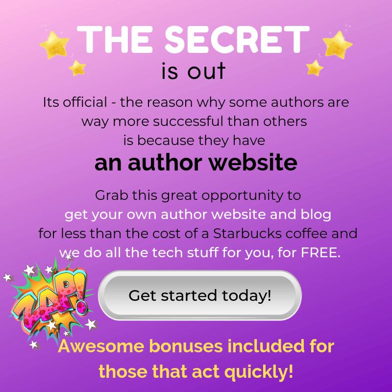 Author-Website-Bluehost-Offer