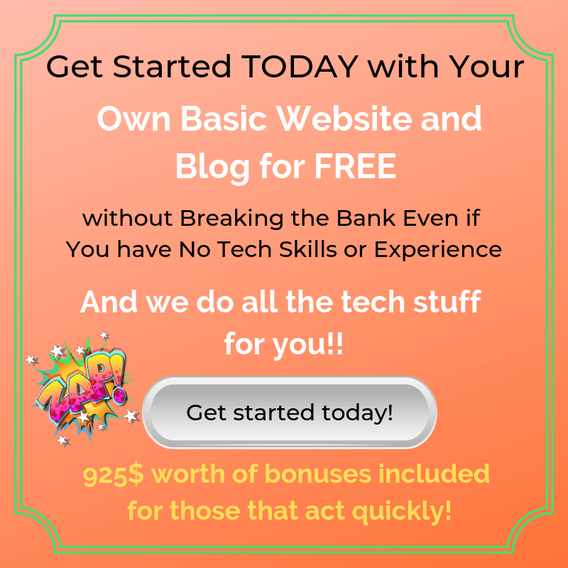 Free Website and Blog Offer with setup