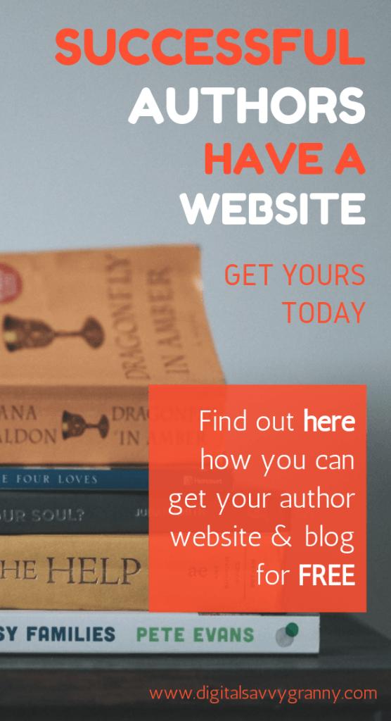books-author-website-blog