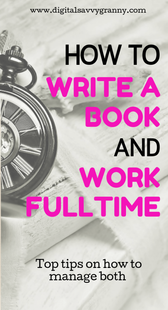 write with a day job- author-books