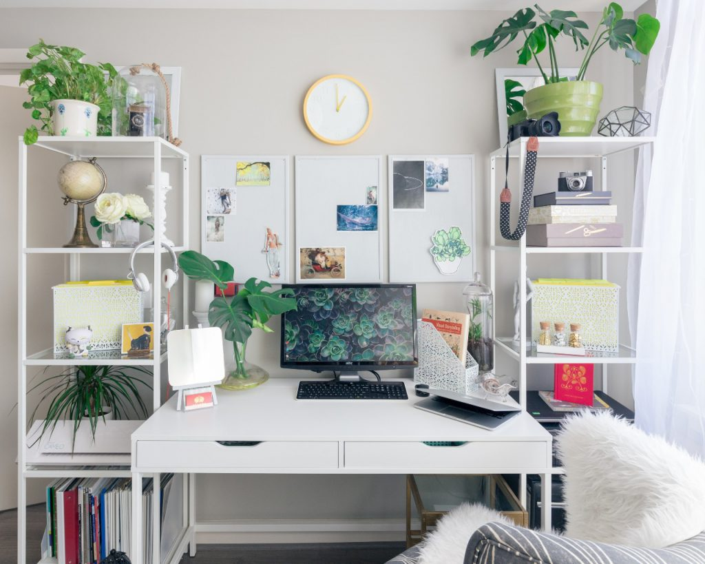 Interesting Home Office Space