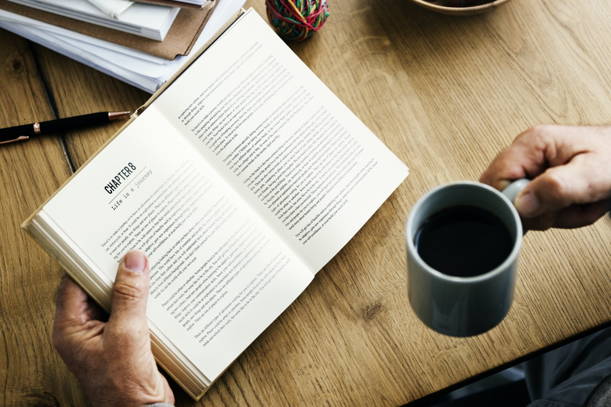 Ideal Reader-book-coffee-pen